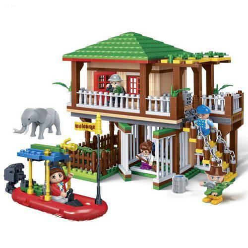 Brinquedo Safari Casa do Rio 442 Peças 6652 - Banbao