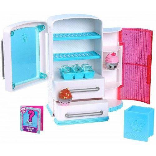 Brinquedo Shopkins Linda Cozinha Geladeira Chef Club Dtc