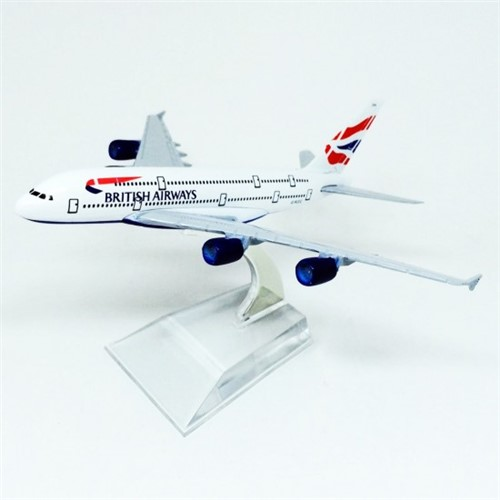 British Airways Airbus A380 - HB Toys - Minimundi.com.br