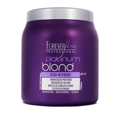 Btox Intensive Platinum Blond 1000ml - Forever Liss Professional