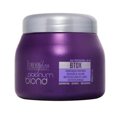 Btox Intensive Platinum Blond 250g - Forever Liss Professional