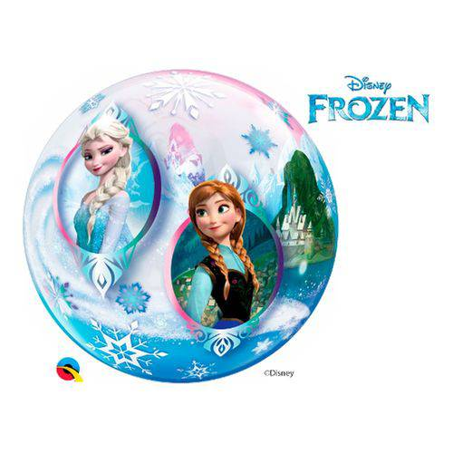 Bubble 22 Polegadas - Frozen - Disney - Qualatex
