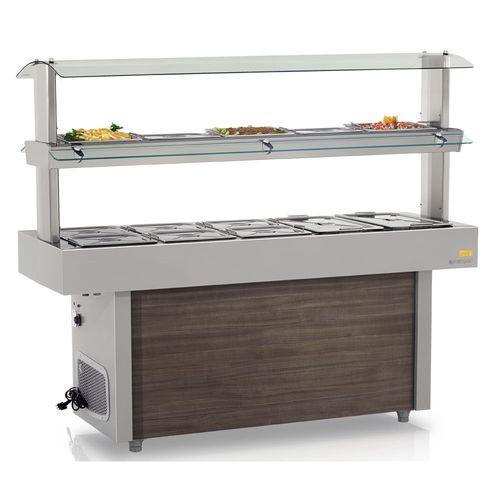 Buffet Térmico e Refrigerado GMTR190 Gelopar