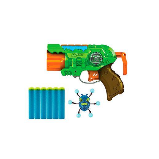 Bug Attack Lançador Predador 3 Tiros - Candide