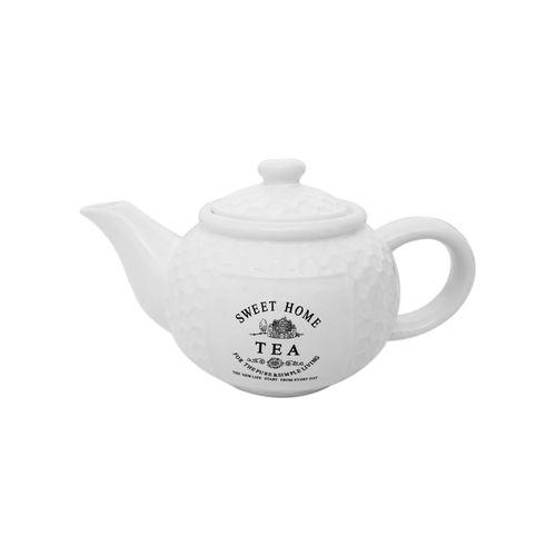 Bule em Porcelana para Chá Bon Gourmet Sweet Home 950ml