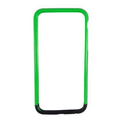 Bumper Duplo Iphone 6 Preto/Verde - Idea