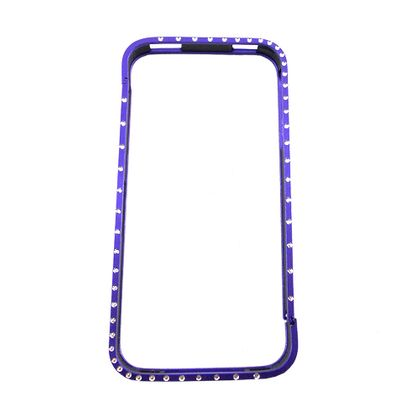Bumper Iphone 4/4S Metal Brilho Roxo - Idea