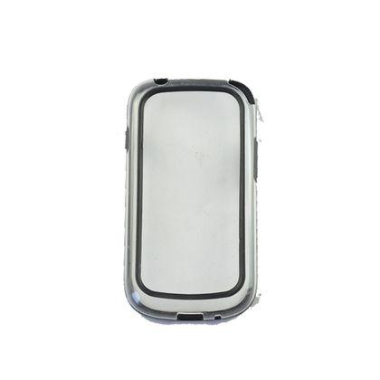 Bumper Samsung Galaxy Fame Preto/Transparente - Idea