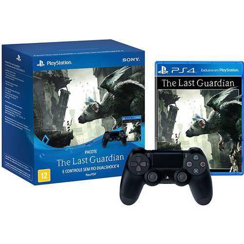 Bundle Controle Dualshock 4 + Jogo The Last Guardian - Ps4