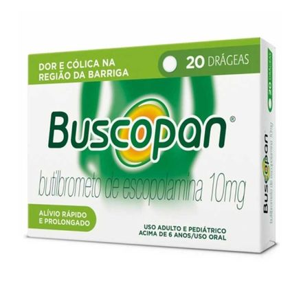 Buscopan 10mg 20 Drágeas