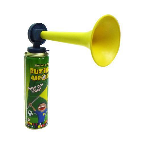 Buzina da Alegria Tubo Spray 250ml Corneta Festa Animação - Mix8 690542