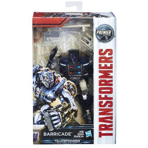 C0887 Transformers Último Cavaleiro Barricade
