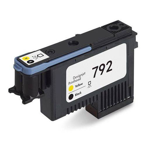 Cabeça de Impressão Hp Designjet 792 Amarelo/ Preto L26500 / L28500 - Cn702a