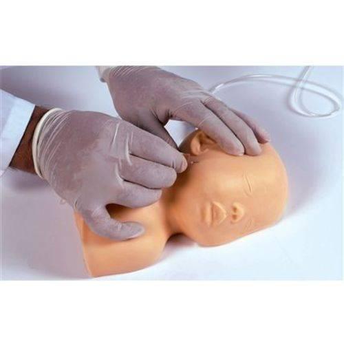 Cabeça Pediátrica P/ Treino de Punção Venosa Simulador Médico
