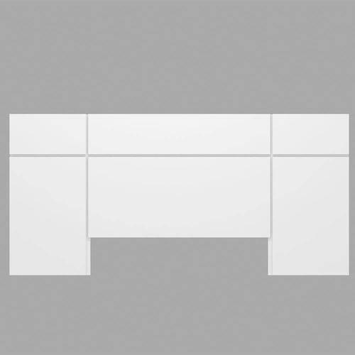 Cabeceira Branco Brilho - Dalla Costa
