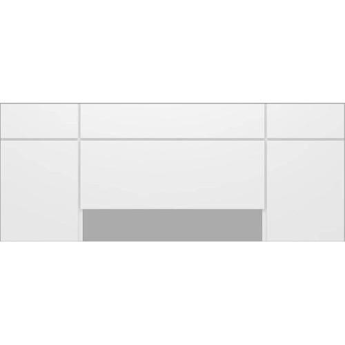 Cabeceira Casal para King Size TW164 Branco - Dalla Costa