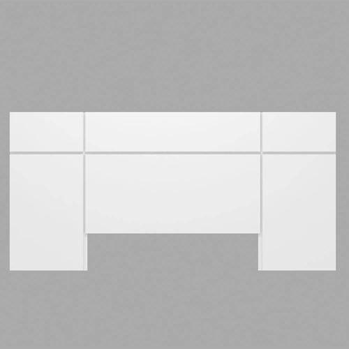 Cabeceira Casal TW161 Branco - Dalla Costa