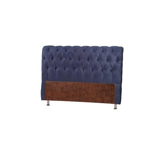 Cabeceira Lecce Azul King (199x128x24)