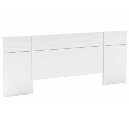 Cabeceira Painel Casal TW164 para Colchão Box em MDF Branco Brilhante - Dalla Costa