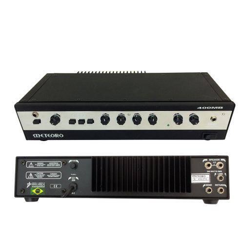 Cabeçote para Amplificador Baixo 400mb 200w Rms Meteoro