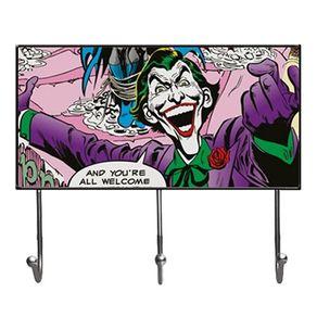 Cabideiro Coringa Quadrinhos HQ DC Comics Vintage Grande