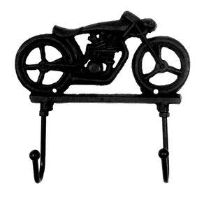 Cabideiro de Ferro Formato Moto