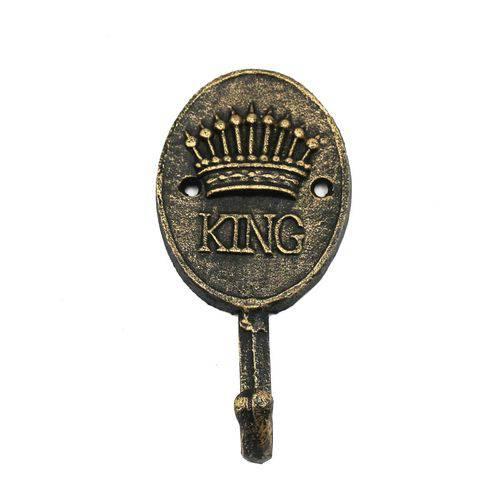 Cabideiro de Ferro King Crown Dourado - Urban