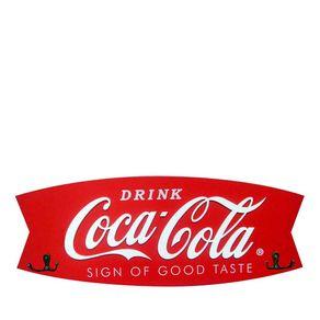 Cabideiro de Madeira Fish Coca-Cola
