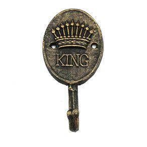 Cabideiro de Parede Dourado King