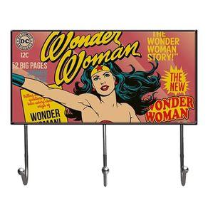 Cabideiro Mulher Maravilha Quadrinhos HQ DC Comics Vintage Grande