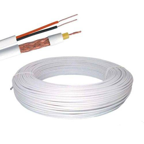 Cabo Cx Rf 4,00 Mm 2x26 Awg 100m Br Ext - Rolo