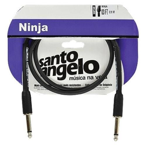 Cabo de Guitarra P10 Ninja 3ft 0,91m