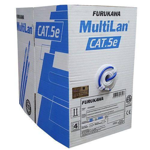 Cabo de Rede Furukawa Multilan U/utp Cat5e Rohs 305 Mts
