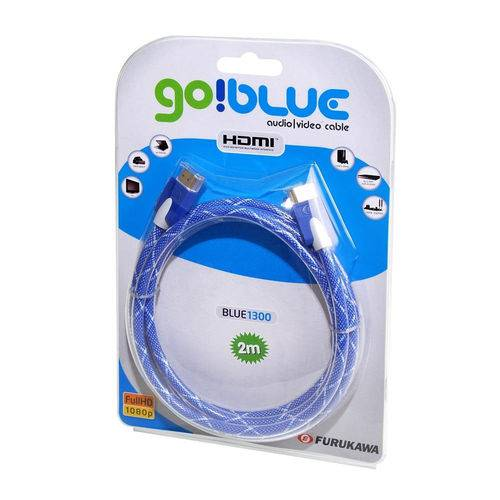 Cabo HDMI Full HD 2,0m Go!Blue 1300 2367182 Furukawa