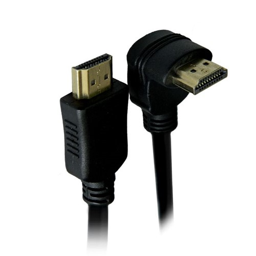 Cabo HDMI X HDMI Digital com Conector de 90º 1,8m Elgin