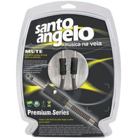 Cabo Instrumentos Santo Angelo Guitar B (3 Metros) P10 Mute
