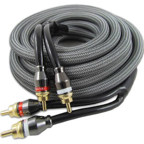 Cabo RCA Technoise Series 800 Dupla Blindagem Stereo 1,5 Metros