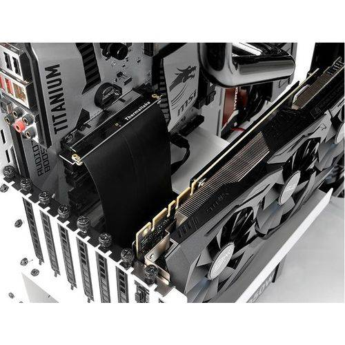 Cabo Riser Extensor Thermaltake Gaming Pci-e 3.0 16x Tag Card Pack Ac-053-cn1otn-c1