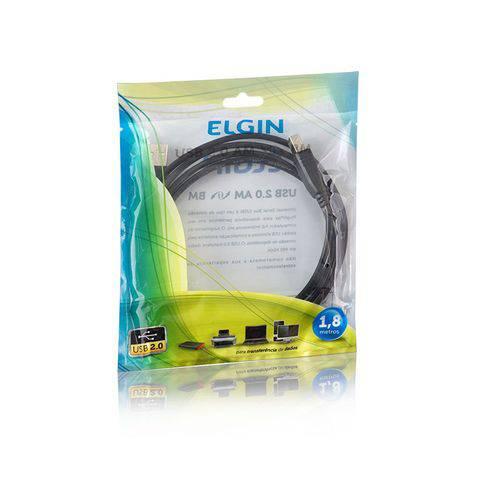 Cabo USB 2.0 Am/bm 1,8 Metros Elgin