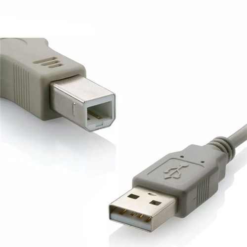 Cabo USB 2.0 para Impressora a Macho X B Macho 3,0m Wi273 – Multilaser