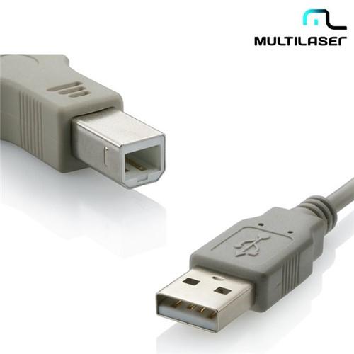 Cabo USB 2.0 para Impressora a Macho X B Macho 5,0m Wi274 – Multilaser