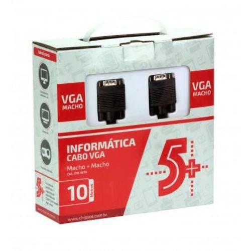 Cabo VGA para VGA 10 Metros com Filtro ChipSce - 018-9570