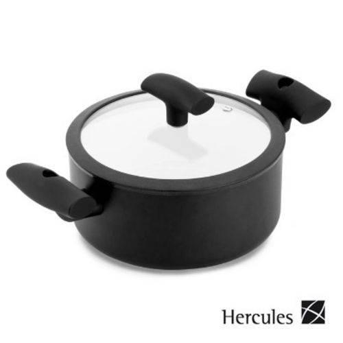Caçarola de Cerâmica 22cm Indução com Tampa - Hercules