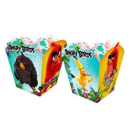 Cachepot Angry Birds o Filme 08 Unidades Regina Festas