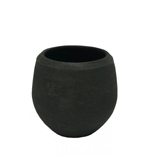 Cachepot Cerâmica Florest Verde 18cm - Occa Moderna