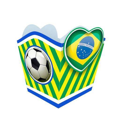 Cachepot Coração Brasil 10 Unidades Festança