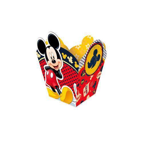 Cachepot Decorativo Mickey Clássico C/08 Unidades