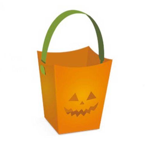 Cachepot Halloween P/ Velas C/6 - Cromus