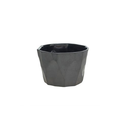 Cachepot Preto Silex 10cm