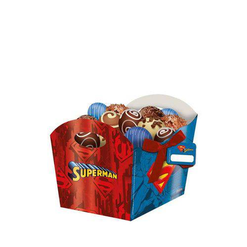 Cachepot Superman 08 Unidades Festcolor